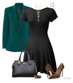 """""""Office Ready"""" by ksims-1 ❤ liked on Polyvore featuring Oasis, LE3NO, Dsquared2, Kanupriya, NOVICA and Diamond Mystique"""