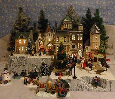Christmas Snow Village Display Platform Base for Dept 56 Lemax 2 pc   eBay