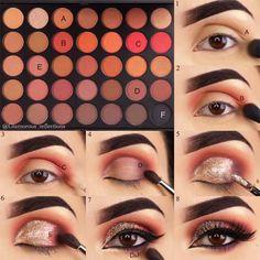 Cuántos tutoriales de maquillaje para ojos marrones ya has probado? ¿Cuántos intentos tuvieron éxito...