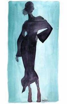 artist Lovisa Oliv fashion illustration www.lovisaoliv.com