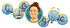 157.º aniversario del nacimiento de Cecilia Grierson #GoogleDoodle