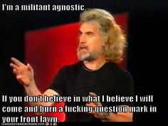 My favorite Billy Connolly line lol