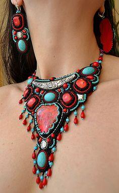 Necklace | Natalia Uhryniv. 'Indira'