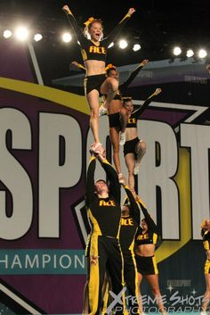 Ace at Cheersport photo by Xtreme Shots Photography Cheer Stunts, Cheerleading, Basketball Court, Soccer, All Star Cheer, Aster, Warriors, Competition, Shots