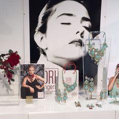 Dori's SS2016 preview on display at the Premiere Classe Tuileries, Paris  #DoriCsengeri #ss2016 #paris #jewelryshow #fashionaccessories #highfashion
