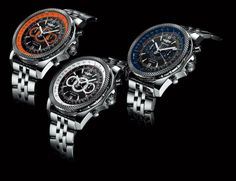 Breitling For Bentley Supersports Chronograph Watches Breitling Bentley, Picture Watch, Swiss Watch Brands, Tourbillon Watch, Breitling Watches, Automatic Watches For Men, Luxury Watches For Men, Cool Watches, Dream Watches
