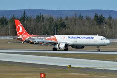 Turkish Airlines Airbus A321-231 TC-JRO Turkish Airlines Euroleague by EK056, via Flickr