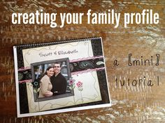Great tips on creating your adoption family profile book from an adoption professional and birth parent counselor #adoption #familyprofile #adoptionprofile