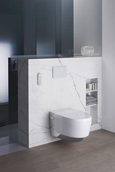 Een douchewc die in elke badkameromgeving past en boordevol revolutionaire technologie zit. Geberit AquaClean Mera is een meesterwerk dat staat voor het genieten van comfort en luxe.