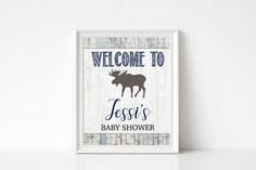 Hey, I found this really awesome Etsy listing at https://www.etsy.com/listing/549762927/woodland-welcome-baby-shower-sign-rustic