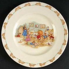 Vintage Bunnykins Plate......