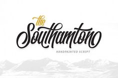 Introduction The Southamton Typeface! The Southamton designed by WNPRHCO, this is a premium font, are sold on creativemarket, but it was great, it is . Best Script Fonts, Cursive Fonts, Handwritten Fonts, Calligraphy Fonts, Cool Fonts, New Fonts, Script Typeface, Modern Calligraphy, Font Design