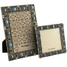 Seville Jeweled Frames - Blue