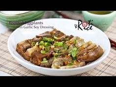 How to make Roasted Eggplants with Garlic Soy Dressing