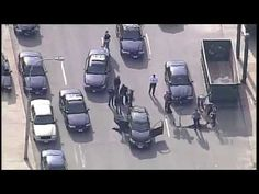 Police Chase Ends In Front Of KC Police HQ