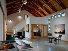 Vashon Studio Interior: