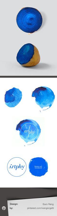 Artphy - strange #logo #design by Buro Reng