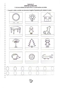 Fise de lucru Kindergarten Worksheets, Worksheets For Kids, Preschool Writing, Paper Trail, Fun Crafts For Kids, School Lessons, 4 Kids, Activities, Gabriel