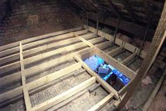 We often adopt the method shown above, here you can see the new timber joists have been installed and rest completely independent of the existing ceiling joists. Description from newspaceloftstorage.co.uk. I searched for this on bing.com/images