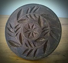 Chip Carving, Wood Carving, Springerle Cookies, Butter Molds, Churning Butter, Primitive Antiques, Rug Ideas, Wood Work, Old World