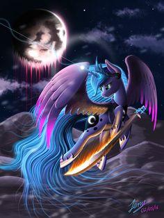 Rage of the Moon by Duskie-06.deviantart.com on @DeviantArt