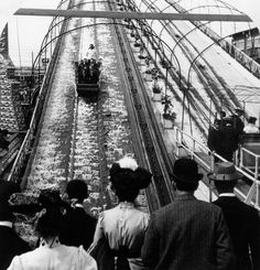 This is what Coney Island looked like back in 1903 (back when it was still actually an island