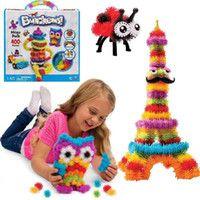 Bunchems 400 Pezzo Mega Pack-Squish, collegare e creare diy regalo del capretto Diy Gifts For Kids, Diy For Kids, Diy Puffs, Diy Cadeau, Mega Pack, Plush Animals, Building Toys, Creative Kids, Jouer