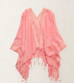 Aerie Beach Shawl. Cozy up to our fave piece! #Aerie