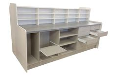 Pharmacy Units. Created to suit your exact requirements. All our Pharmacy cupboards and pharmacy display units are manufactured in the colour/size of choice.  Read our 5 STAR REVIEWS