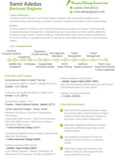 Electronic engineer resume sample see more samples here http://www.resumeeditingservice.com/how-we-work/