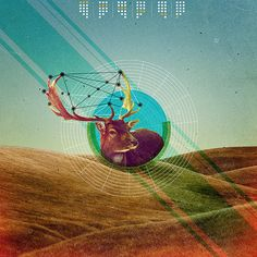Geometrical Landscapes by Marija Matovic, via Behance