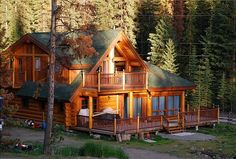 Vacation Planning - Dreamin' in a Log Cabin on Pinterest | Log Cabins ...