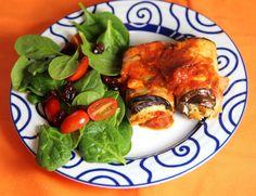 Eggplant Roll-ups Recipe - JoyOfKosher.com