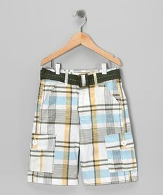 Shorts Men's Clothing Gap Plaid Shorts Khakis Blue Yellow Red Green Preppy Flat Front Mens 34 X 21 Utmost In Convenience