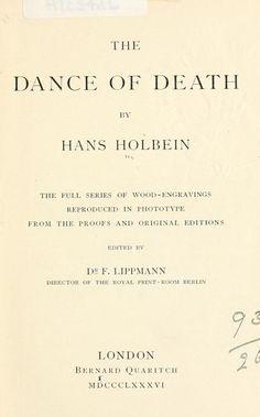 The dance of death : the full series of wood en...