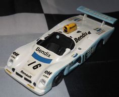 HAND BUILT 1/43 MINI RACING BENDIX RENAULT ALPINE A442 LE MANS 1977 WHITE METAL