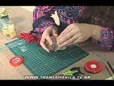 TV Transamérica - Pote de Vidro Decorado com Tecido - YouTube