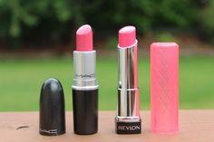 "Viva La Fashion I Beauty + Life Style Blog: Drugstore Dupes: MAC ""Lustering"" Lipstick"