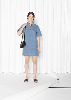 & Other Stories | Denim Mini Dress