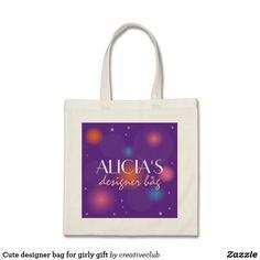 Cute designer bag for girly gift #kidsgift #girlgift #girlytotebag