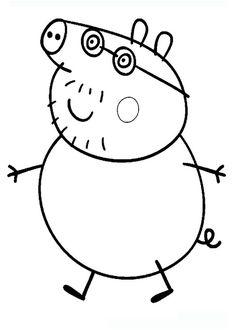Dibujos para imprimir Peppa pig 2