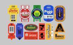 Graphic design, motion design, branding, typography, and inspiration. Label Design, Packaging Design, Logo Design, Design Design, Freelance Graphic Design, Graphic Design Typography, Fruit Logo, Branding, Funny Art