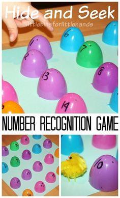 Easter Number Recogn