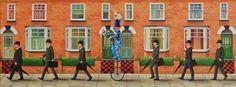 "Saatchi Art Artist Antoinette Kelly; Painting, ""Off To Work!"" #art"