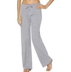 Wear the classic, cozy Champion® Women's Jersey Pants when you're lounging…