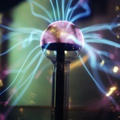 Noble gases + Electricity