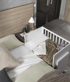 Cuna colecho de Kibuc para adosar a la cama de los padres