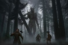 new Ideas fantasy art creatures dark Fantasy Forest, Dark Fantasy Art, Medieval Fantasy, Fantasy Artwork, Dark Art, Dark Forest, Fantasy Places, Fantasy World, Arte Horror