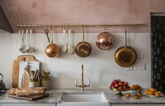 Kitchen of the Week: Skye McAlpine's London Flat by Jersey Ice Cream Co | Remodelista | Bloglovin'