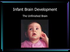 infant-brain-development-2891731 by Edward Tsien via Slideshare  A comprehensive education on infant brain development and current research